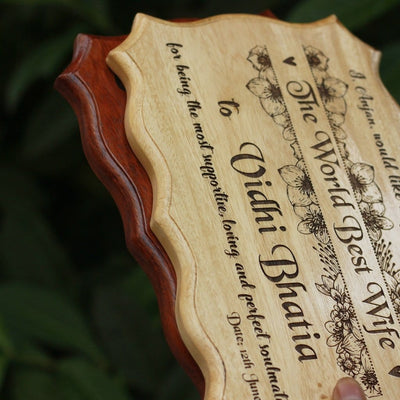 Unique Wood Certificates - Engraved Wood Certificates Personalized - Woodgeek Store