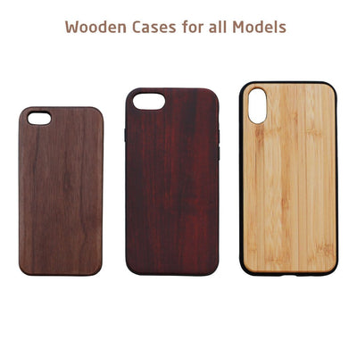 Customized Slim Wooden Phone Case