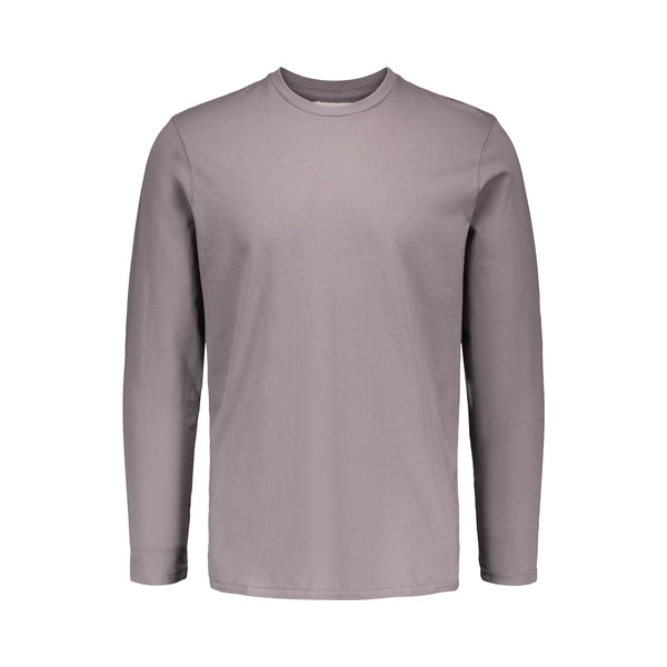LONG SLEEVE COTTON JERSEY T-SHIRT
