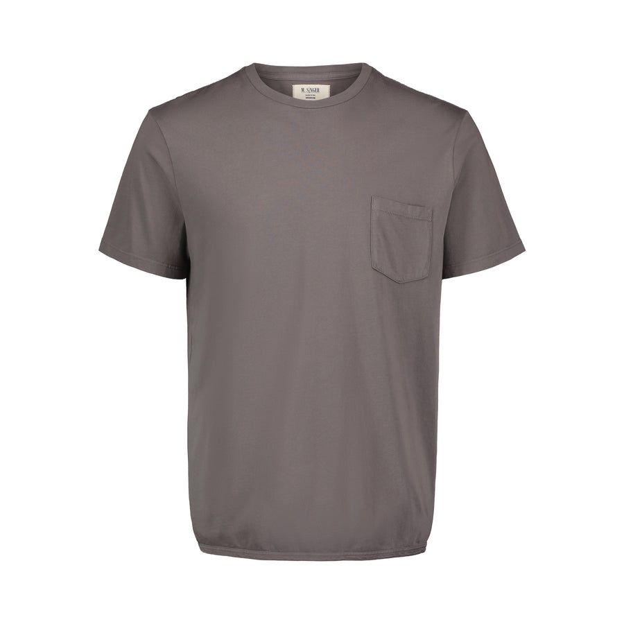 dovetail pocket tee cotton