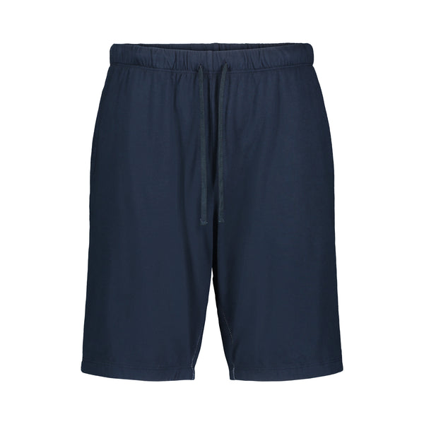 navy double face lounge short