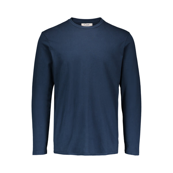 LONG SLEEVE MAGIC WASH JERSEY T-SHIRT