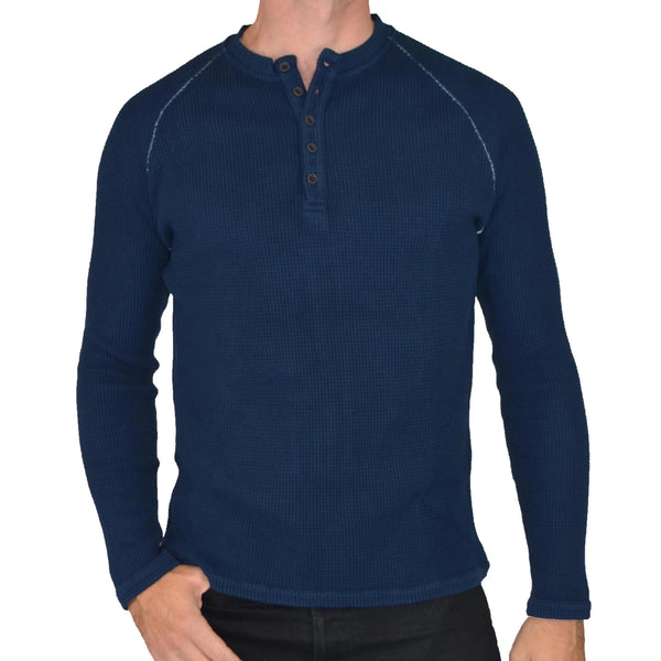 LONG SLEEVE MAGIC WASH THERMAL HENLEY