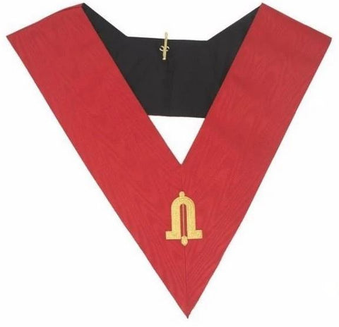 Masonic AASR collar 18th degree - Knight Rose Croix - Junior Warden