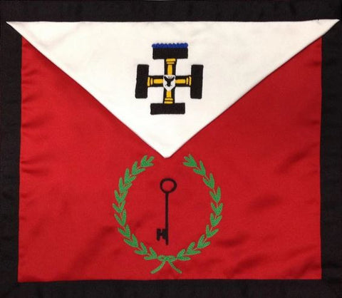 Masonic Scottish Rite Masonic Apron - AASR - 27th Degree