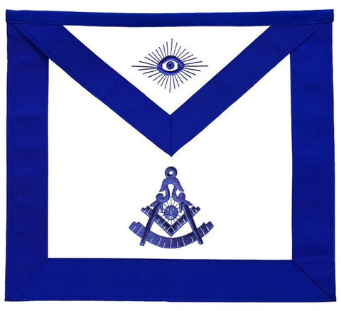 Masonic Blue Lodge Apron Past Master