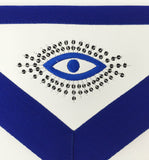 Copy of Copy of Masonic Blue Lodge Master Mason Apron Machine Embroidery Navy - kitchcutlery  - 3