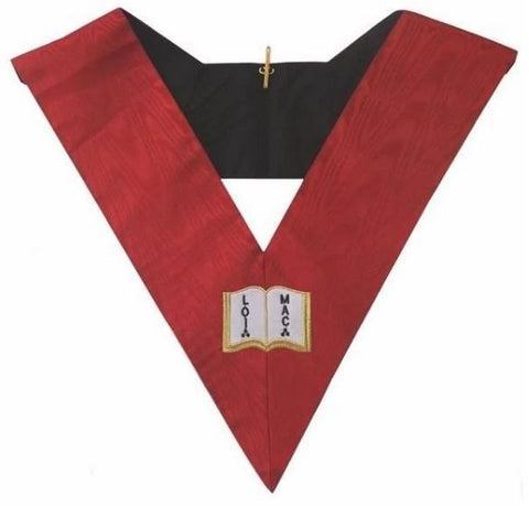 Masonic AASR collar 18th degree - Knight Rose Croix- Orator
