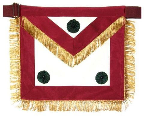 Knight Mason Apron Past Excellent Maroon