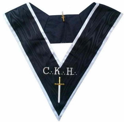 Masonic Officer's collar - ASSR - 30th degree - CKH - Grand Guard of the Camps