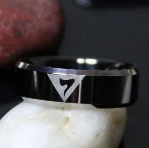 14TH Degree Masonic Tungsten Carbide Wedding Ring