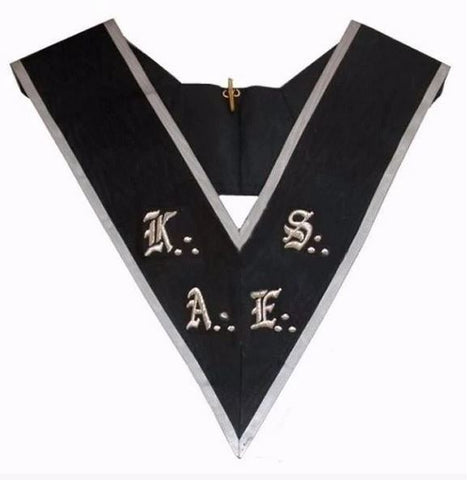Masonic collar - AASR - 30th degree- AKAES