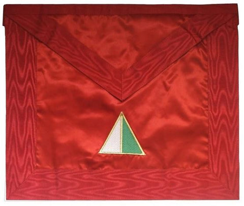 Masonic Scottish Rite Satin apron - AASR - 26th degree