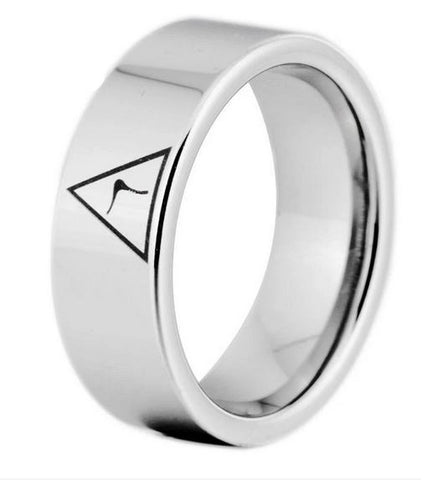 14th Degree Masonic Silver Color Ring FREE Engraving