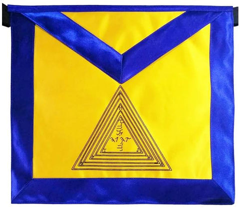 Masonic Scottish Rite 20th degree Master Of The Symbolic Lodge Regalia Apron
