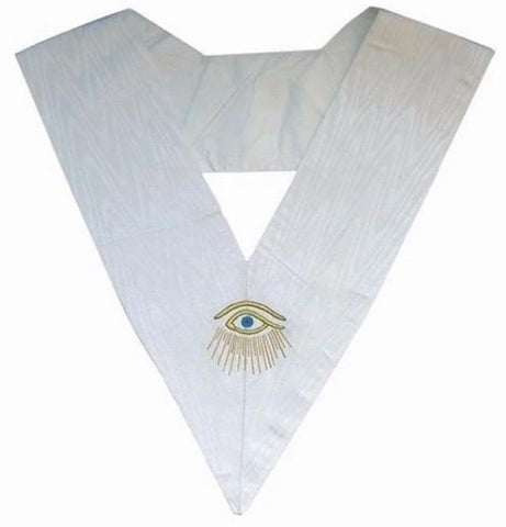 Masonic Officer's collar - ASSR - 28th degree - Eye + Rays