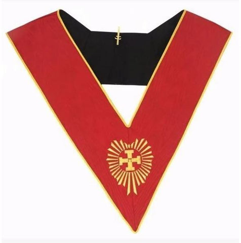 Masonic AASR collar 18th degree - Knight Rose Croix - Head Chapter