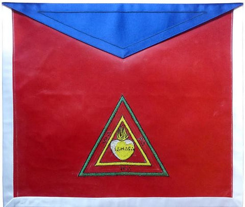 Masonic Scottish Rite Masonic Apron - AASR - 26th Degree