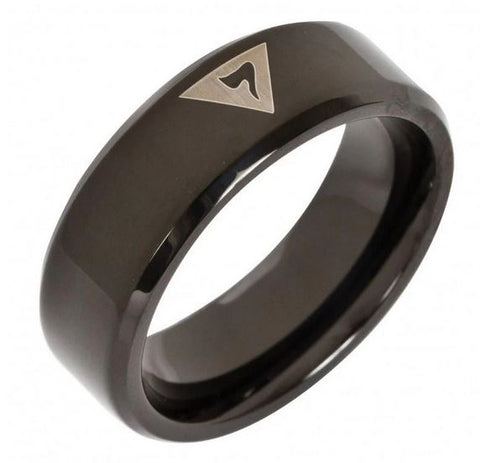 14th Degree Masonic Tungsten Ring FREE Engraving