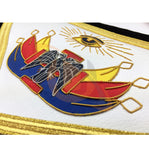 Masonic SCOTTISH RITE 32nd Degree Apron Hand Embroidery Master of Royal Secret - kitchcutlery  - 2