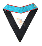 Masonic Blue Lodge worshipful Master Mason Apron and sash set - kitchcutlery  - 8