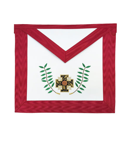 Knight Rose Croix Apron Knight Rose Apron , Scottish Rite Apron