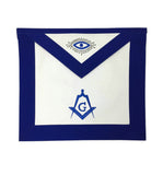 Copy of Copy of Masonic Blue Lodge Master Mason Apron Machine Embroidery Navy - kitchcutlery  - 2