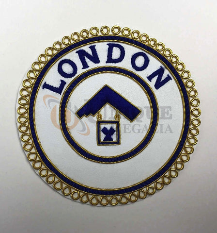 London Grand Rank Handmade Embroided Undress Badge