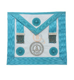 Master Masons Apron with Lodge Badge (Lambskin) - kitchcutlery