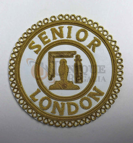 Craft Senior London Grand Rank Handmade Embroidery full-dress Badge