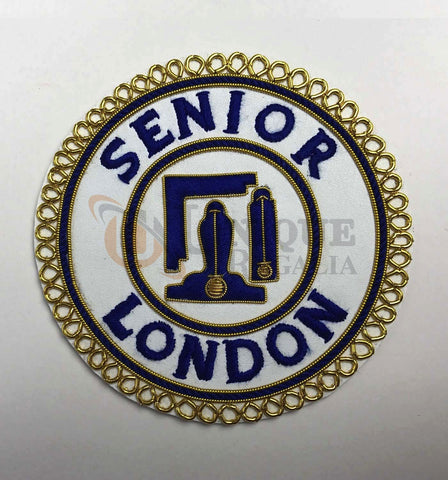 Craft Senior London Grand Rank Handmade Embroidery Undress Badge