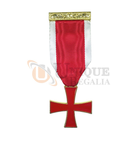 Masonic Knight Templar Breast Jewel