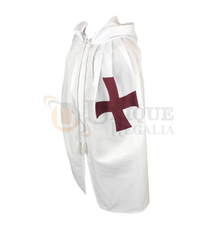 Masonic Knight Templar Mantle with Red Cross