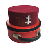 Masonic Knight Templar KT Perceptor Cap/Hat - kitchcutlery  - 4
