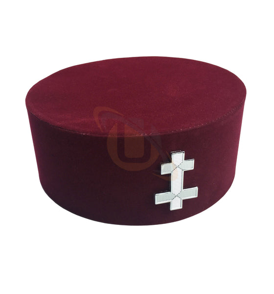 Masonic Knight Templar KT Perceptor Cap/Hat - kitchcutlery  - 1