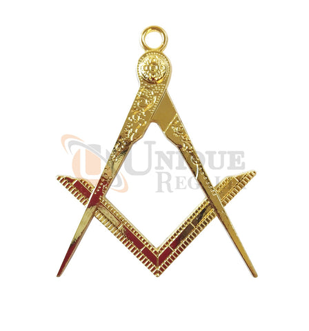Masonic Square Compass Jewel