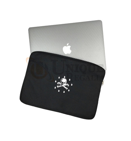 Masonic Laptop Cover with skull bone printing