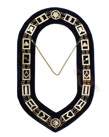 MASONIC BLUE LODGE CHAIN COLLAR - kitchcutlery  - 1
