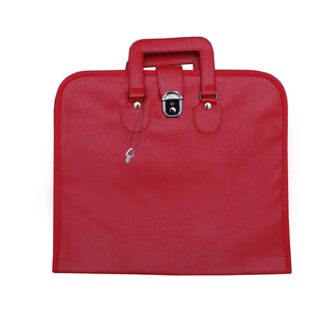 Masonic Regalia MM Apron Case/Bag (Red)
