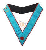 Masonic Blue Lodge worshipful Master Mason Apron and sash set - kitchcutlery  - 6