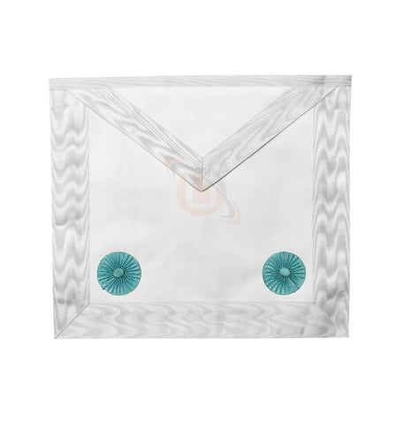 Masonic Blue lodge Fellow Craft Apron with Rosettes - kitchcutlery  - 1