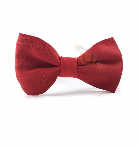 Masonic Bow Tie Red - kitchcutlery