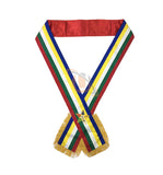 Masonic Eastern Star OES Sash Five Colour sash - kitchcutlery  - 1