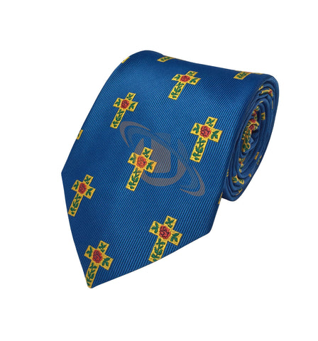 Masonic 100% Silk Rose Croix Tie  - kitchcutlery  - 1