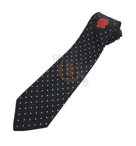 Masonic 100% silk Rose Croix polkadot Tie with Logo - kitchcutlery  - 1