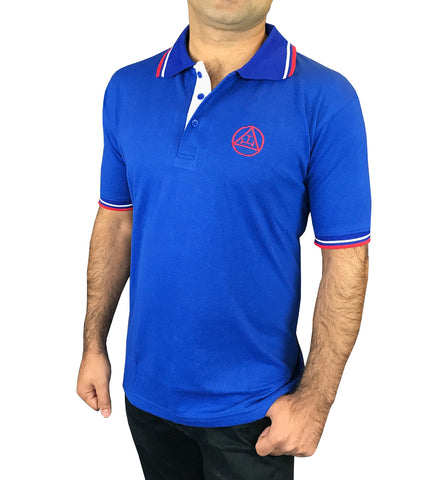 Masonic Golf Polo Shirt with Royal Arch Embroidery Logo