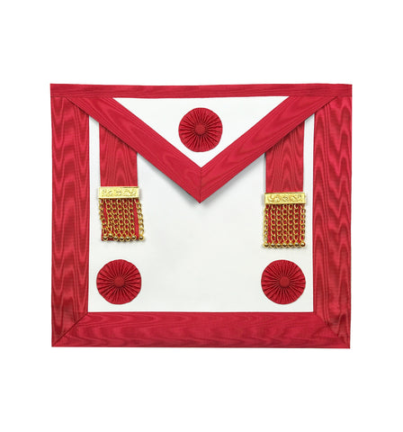 Masonic Blue Lodge / Scottish Rite Master Mason Apron