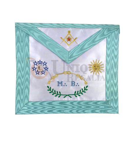 Master Mason Groussier French Rite MB Apron