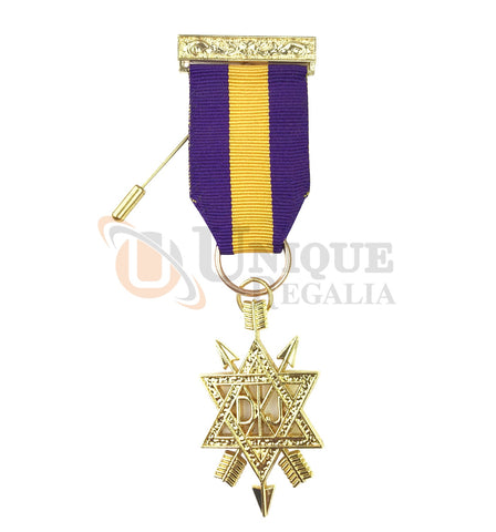 Order of Secret Monitor 1st Degree Breast Jewel OSM