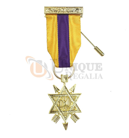 Order of Secret Monitor 2nd Degree Breast Jewel OSM